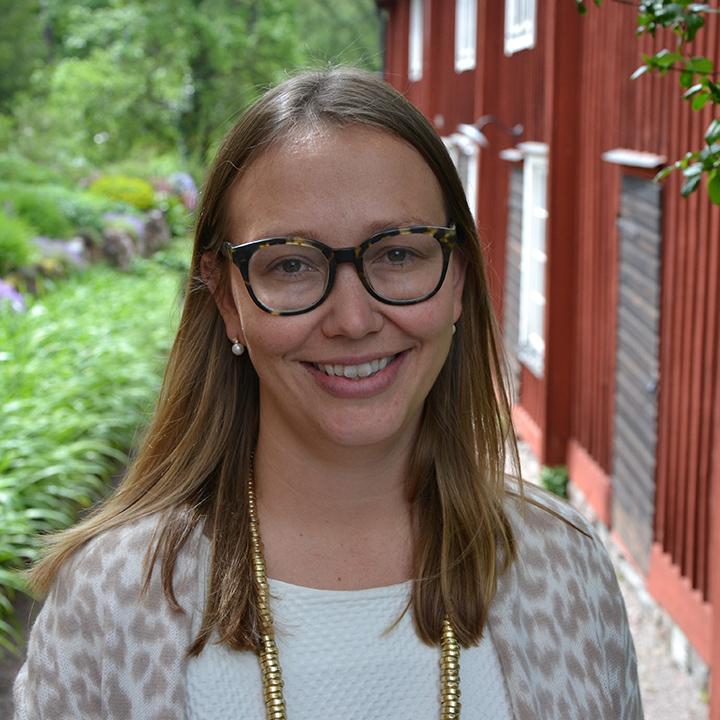 Annika Östman : Communications Manager  (on Parental Leave)