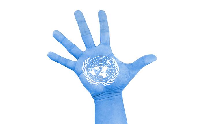 UN hand