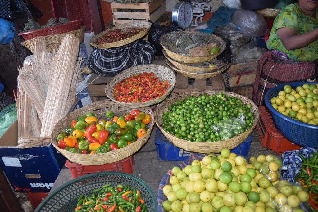Fresh Colombian produce